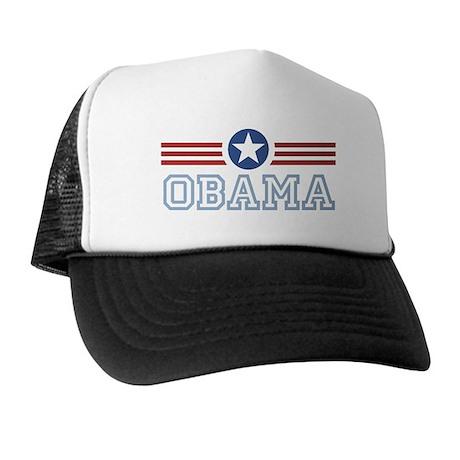 Obama Star Stripes Trucker Hat