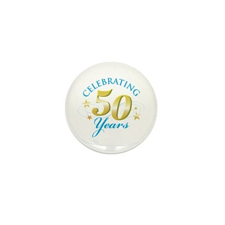 Celebrating 50 Years Mini Button (10 pack)
