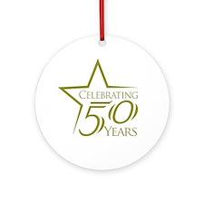 Celebrate 50 Years Ornament (Round)