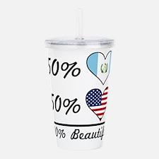 50% Guatemalan 50% American 100% Beautiful Acrylic