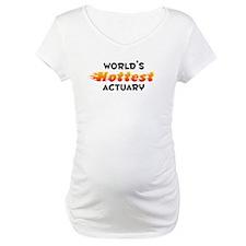 World's Hottest Actuary (B) Shirt