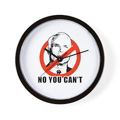 Anti-McCain: No you can't Wall Clock