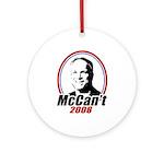 McCan't 2008 Ornament (Round)