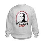 McCan't 2008 Kids Sweatshirt