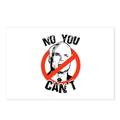 No you can't Postcards (Package of 8)