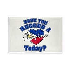 Have you hugged a Filipina today? Rectangle Magnet