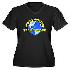 World's Greatest Team .. (D) Women's Plus Size V-N