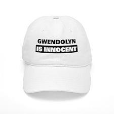 GWENDOLYN is innocent Baseball Cap