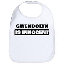 GWENDOLYN is innocent Bib