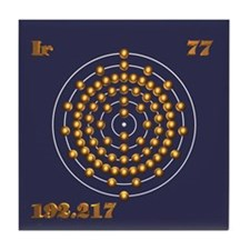 Iridium 77 Tile Coaster