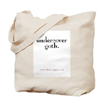 """""""Undercover Goth"""" Tote Bag"""