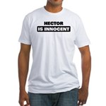HECTOR is innocent Fitted T-Shirt