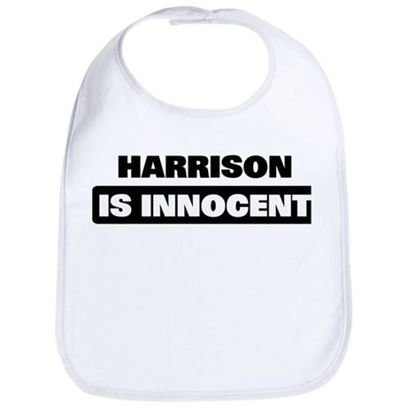 HARRISON is innocent Bib