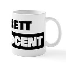 GARRETT is innocent Mug