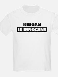 KEEGAN is innocent T-Shirt