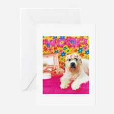 Woof! Pretty in Pink Greeting Cards (Pk of 20)