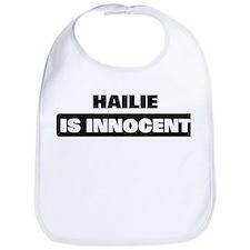 HAILIE is innocent Bib