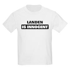 LANDEN is innocent T-Shirt