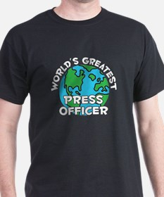 World's Greatest Press.. (G) T-Shirt