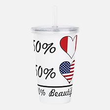 50% Peruvian 50% American 100% Beautiful Acrylic D