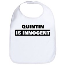 QUINTIN is innocent Bib