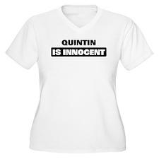 QUINTIN is innocent T-Shirt