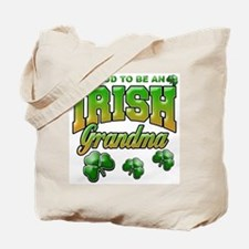 Proud to Be an Irish Grandma Tote Bag