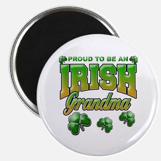 "Proud to Be an Irish Grandma 2.25"" Magnet (10 pack"