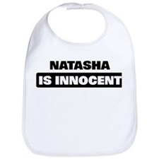 NATASHA is innocent Bib