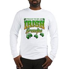 Proud to be an Irish Grandpa Long Sleeve T-Shirt