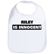 RILEY is innocent Bib