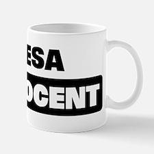 TERESA is innocent Mug