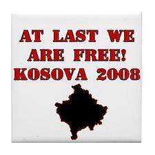 Kosova Independence!! Tile Coaster
