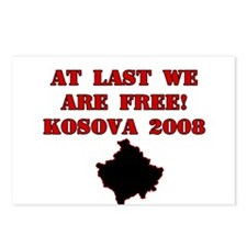 Kosova Independence!! Postcards (Package of 8)