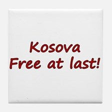 Kosova Independence!! Tile Coaster