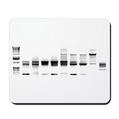 DNA Gel B/W Mousepad