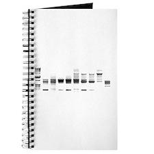 DNA Gel B/W Journal