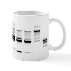 DNA Gel B/W Mug