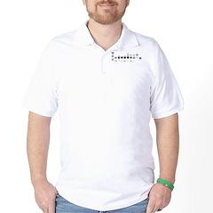 DNA Gel B/W Golf Shirt