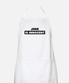 JAKE is innocent BBQ Apron