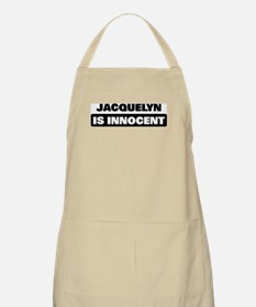 JACQUELYN is innocent BBQ Apron