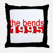 the bends 1995 Throw Pillow