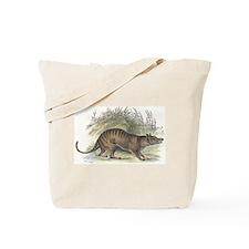 Thylacine Wolf Tote Bag