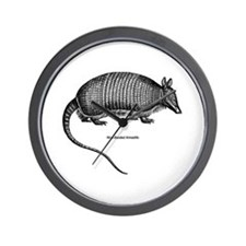 Nine-Banded Armadillo Wall Clock
