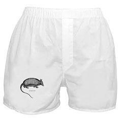 Nine-Banded Armadillo Boxer Shorts