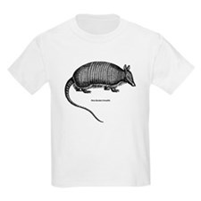 Nine-Banded Armadillo Kids T-Shirt