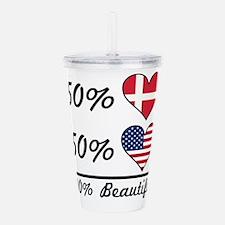 50% Danish 50% American 100% Beautiful Acrylic Dou