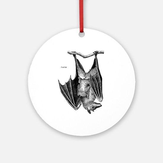 Fruit Bat Keepsake (Round)