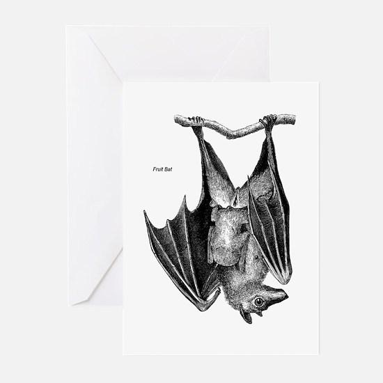 Fruit Bat Greeting Cards (Pk of 10)