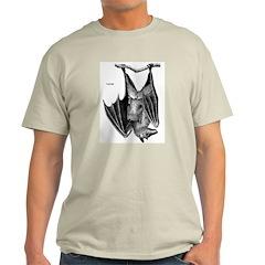 Fruit Bat (Front) Ash Grey T-Shirt
